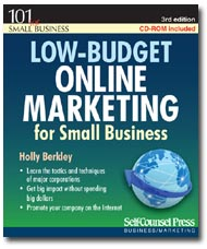 Low Budget Online Marketing for Small Business Book, 3rd edition